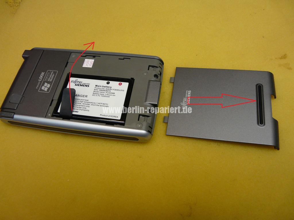 Fujitsu Siemens Pocket Loox , keine Funktion (2)