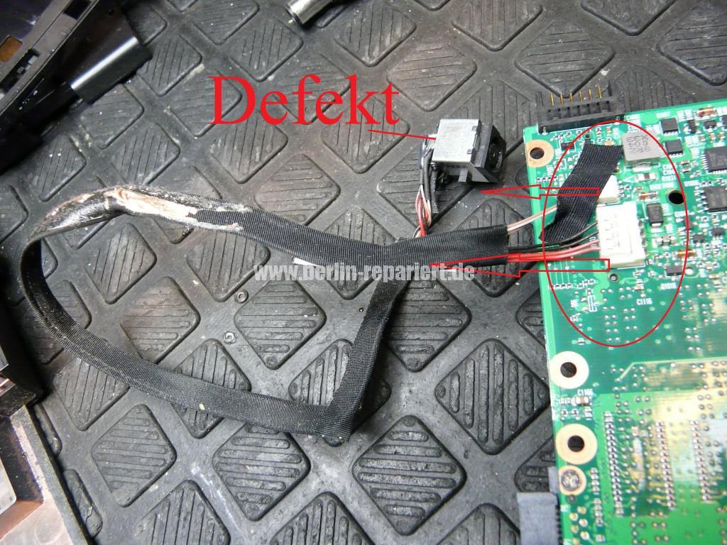 HP ProBook 4710, Netzbuchse Defekt (13)