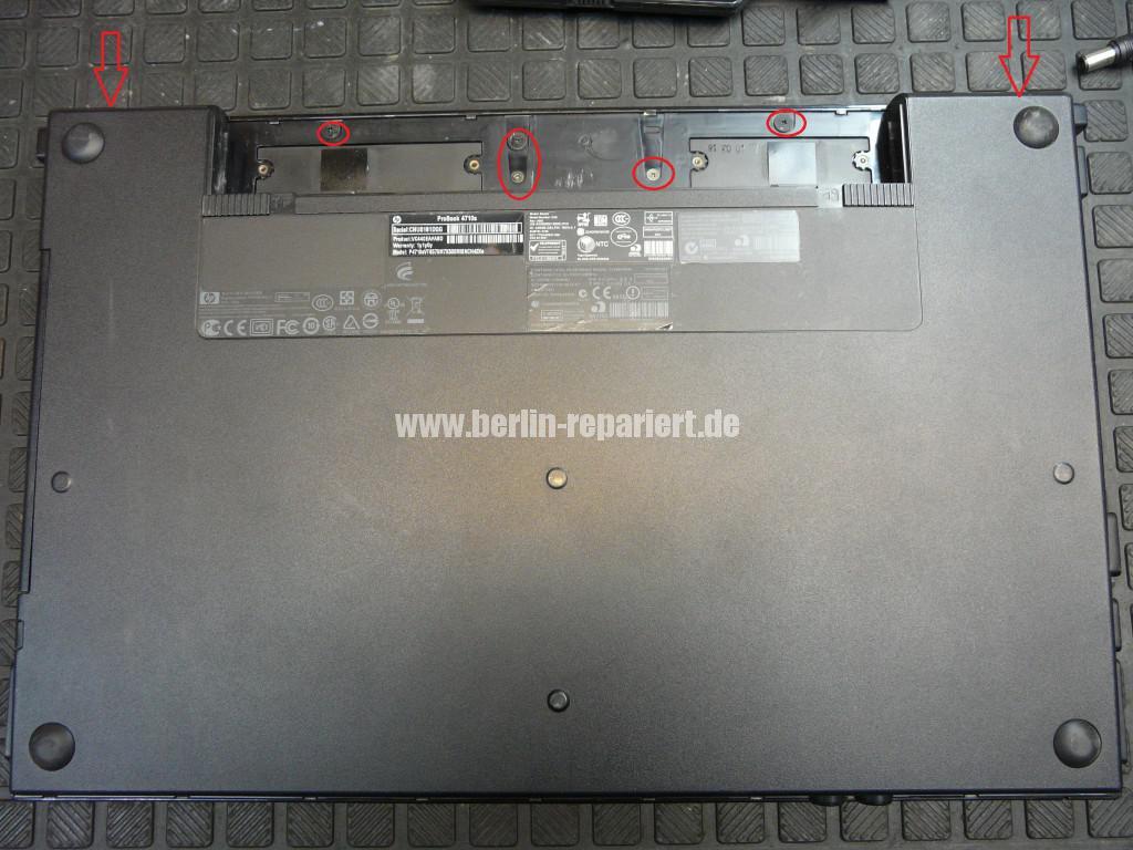 HP ProBook 4710, Netzbuchse Defekt (2)
