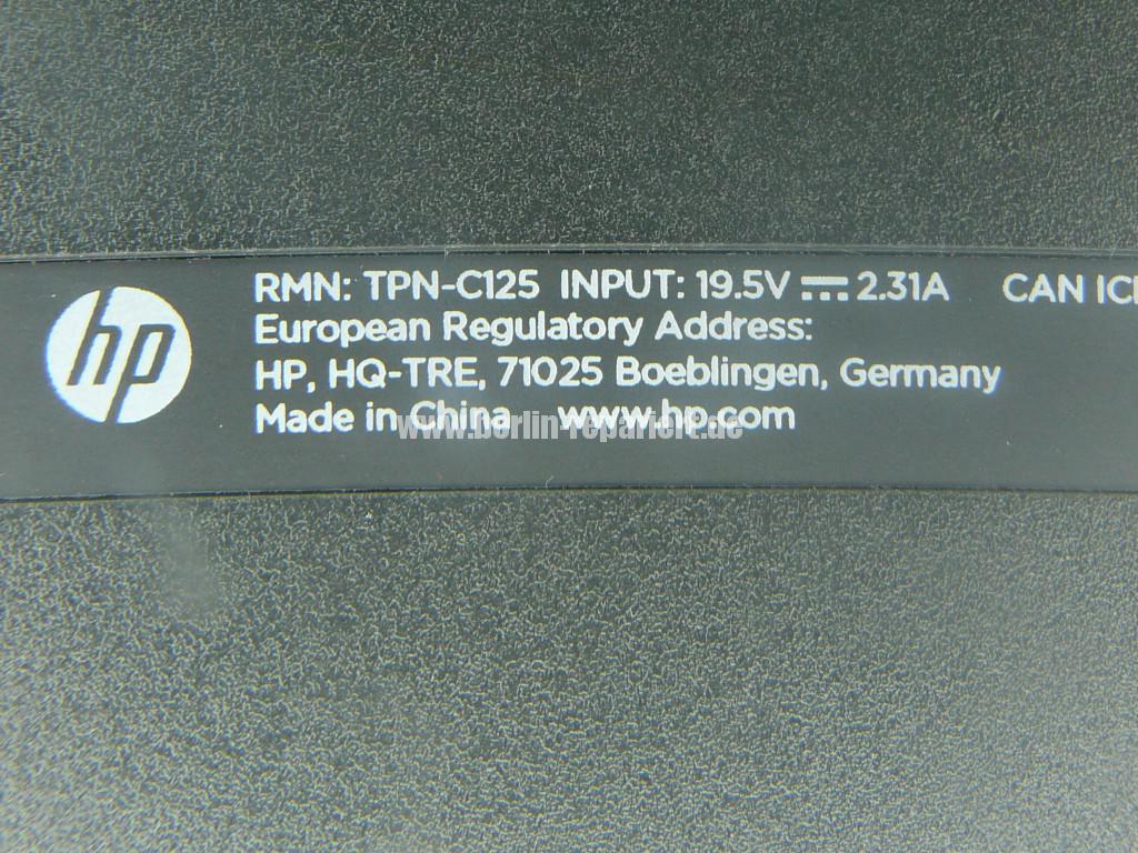 HP Qualität, HP 250, bedient sich von selbst (11)
