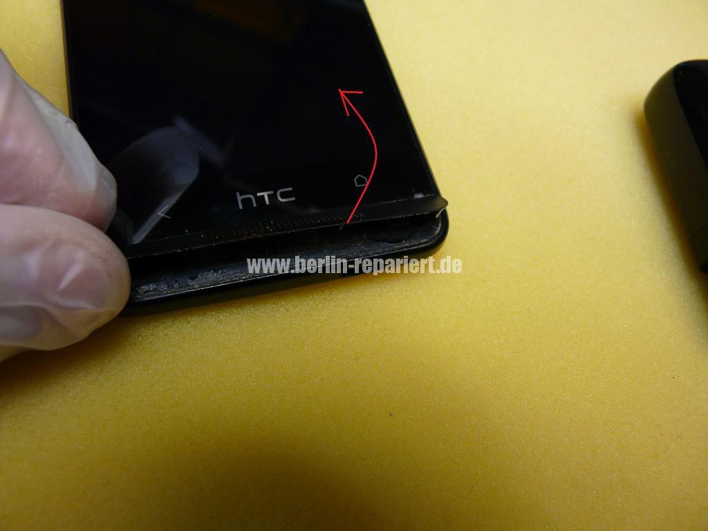 HTC PO585800 Zerlegen, Akku Deckel Cover tauschen (4)