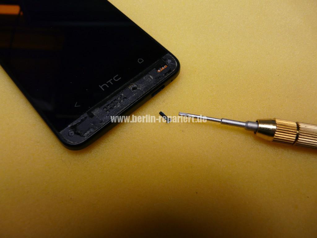 HTC PO585800 Zerlegen, Akku Deckel Cover tauschen (6)
