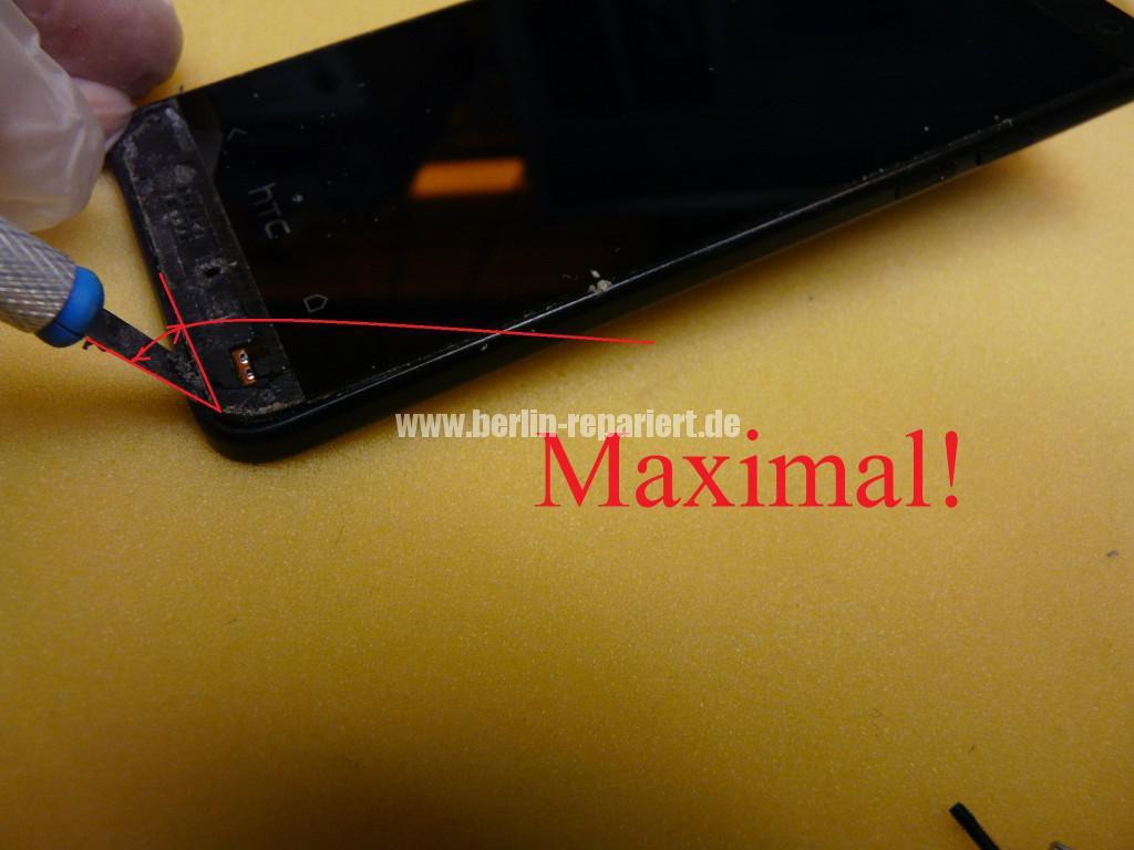 HTC PO585800 Zerlegen, Akku Deckel Cover tauschen (7)