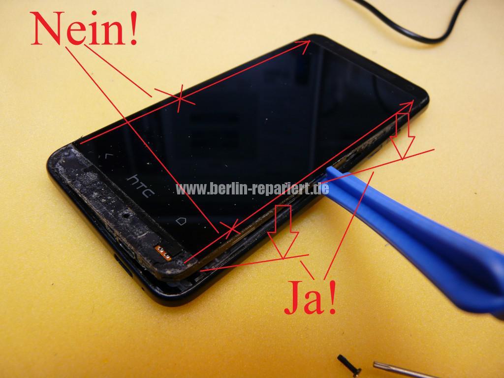 HTC PO585800 Zerlegen, Akku Deckel Cover tauschen (8)