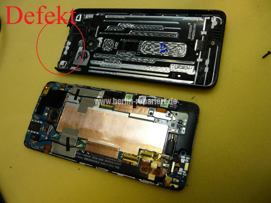 HTC PO585800 Zerlegen, Akku Deckel Cover tauschen (9)
