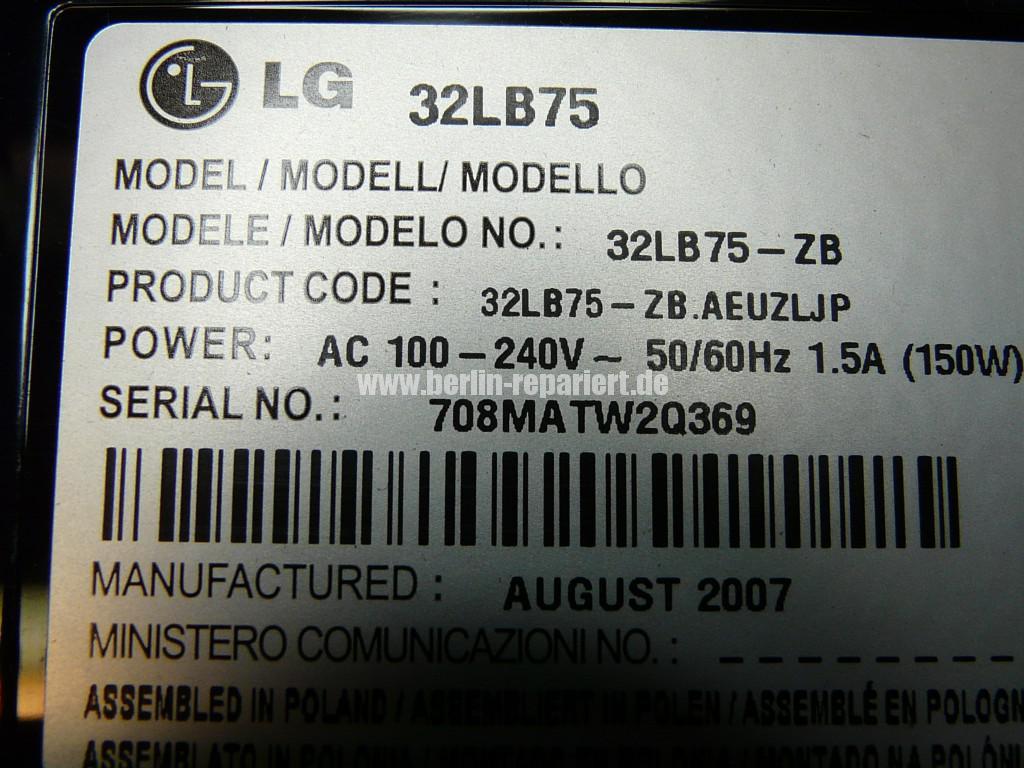 LG 32LB75, kein Bild (6)