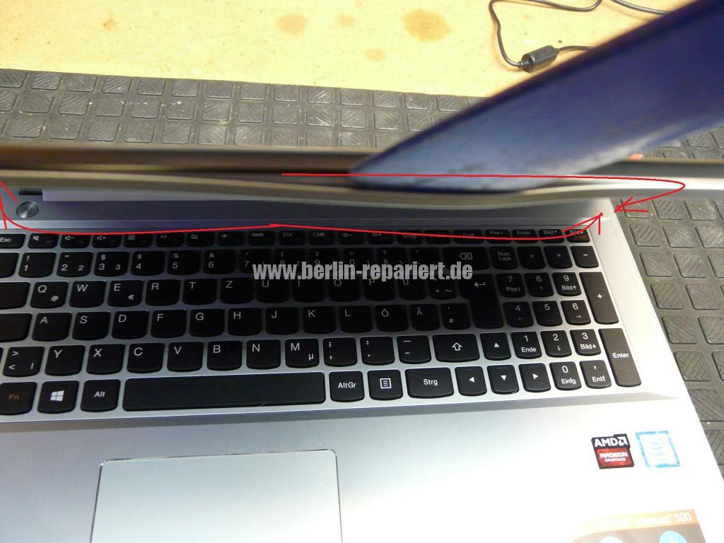 Lenovo Ideapad 500, kein Bild (2)