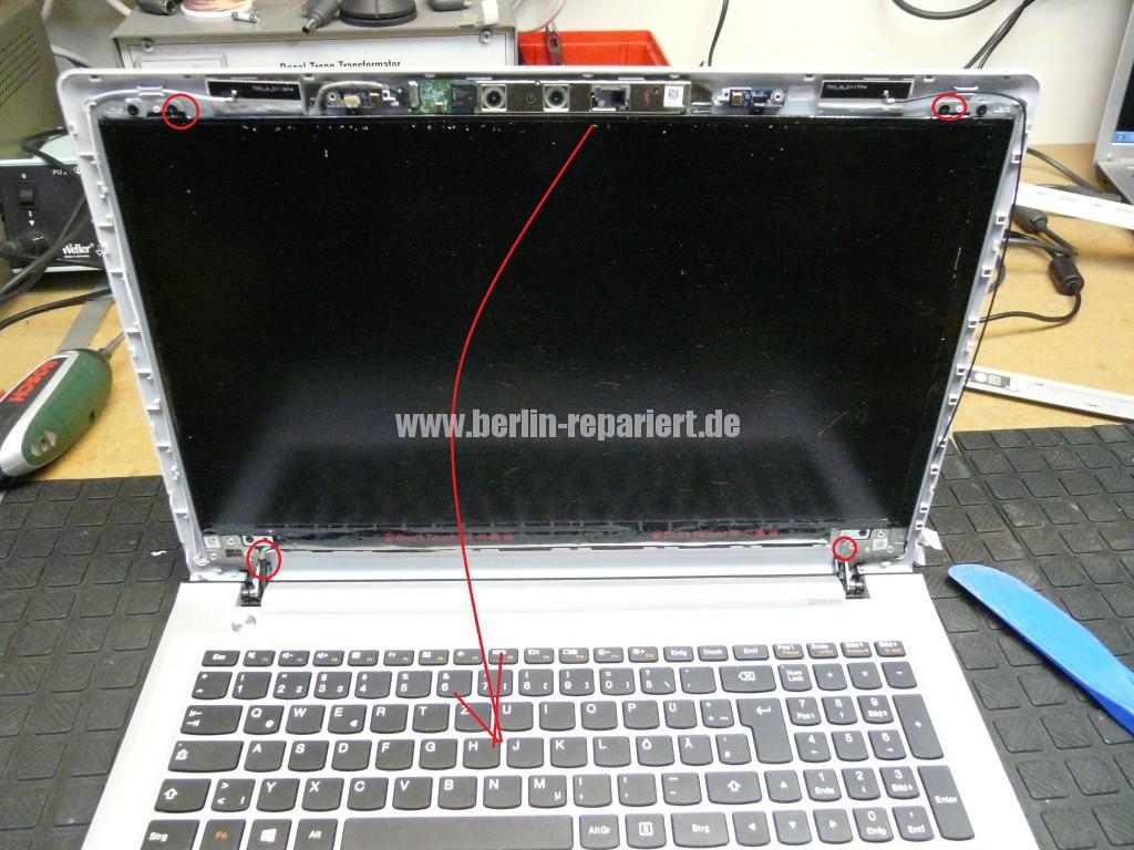 Lenovo Ideapad 500, kein Bild (4)