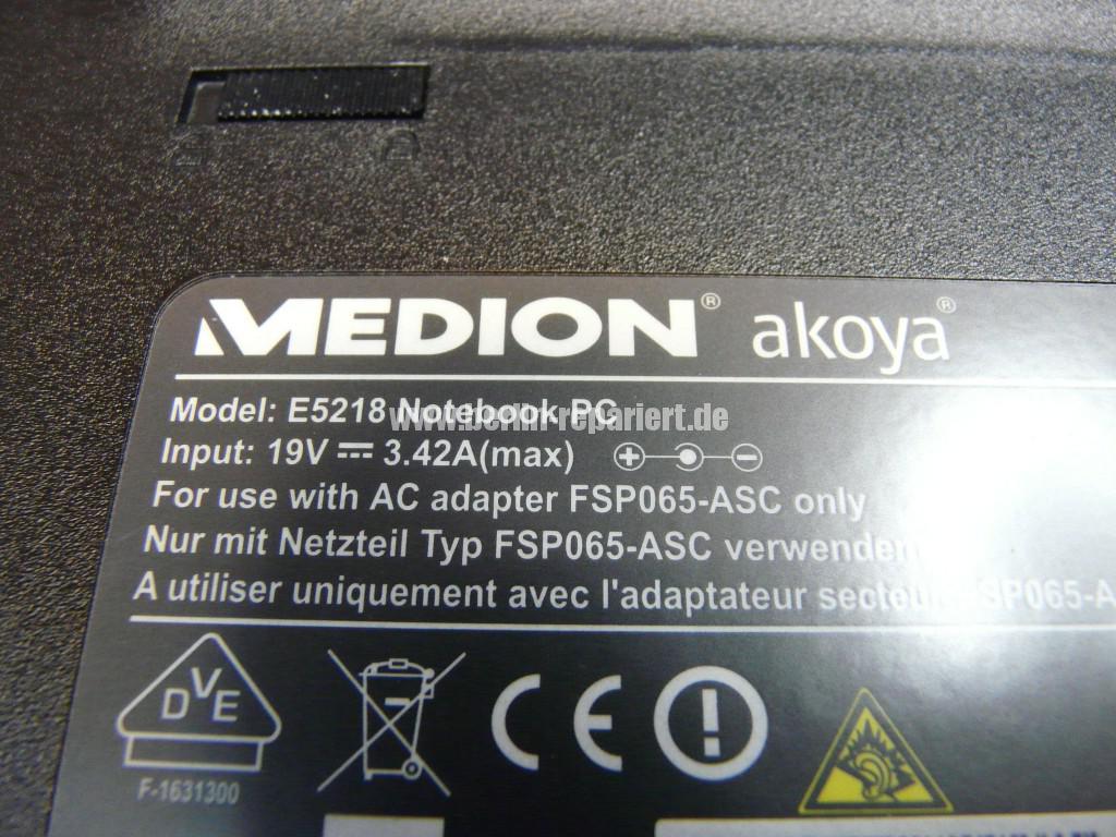 Medion Akoya E5218, Lüfter reinigen (6)