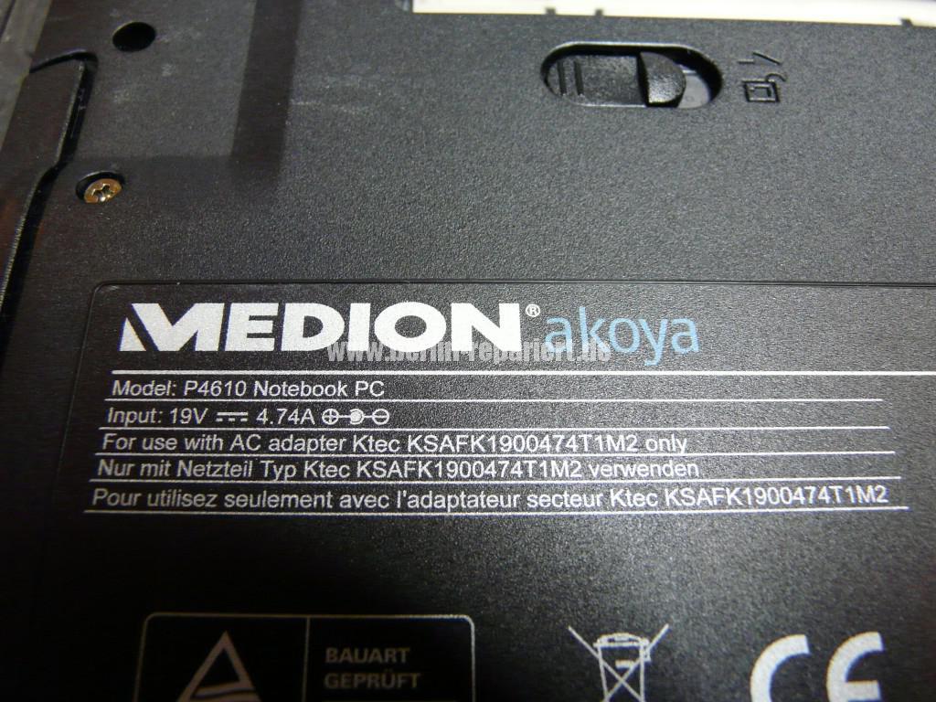 Medion Akoya P4610, kein Bild über HDMI und Display, Monitor ausgang OK (6)