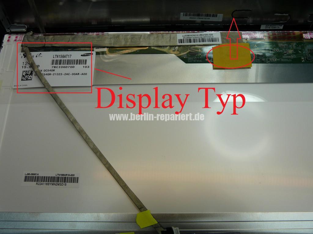 Medion Akoya P6512, Display Defekt (7)