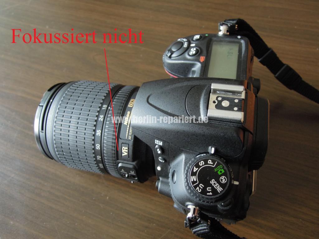 Nikon Defekt AF-S Nikkor 18-105 Fokusiert nicht mehr (2)