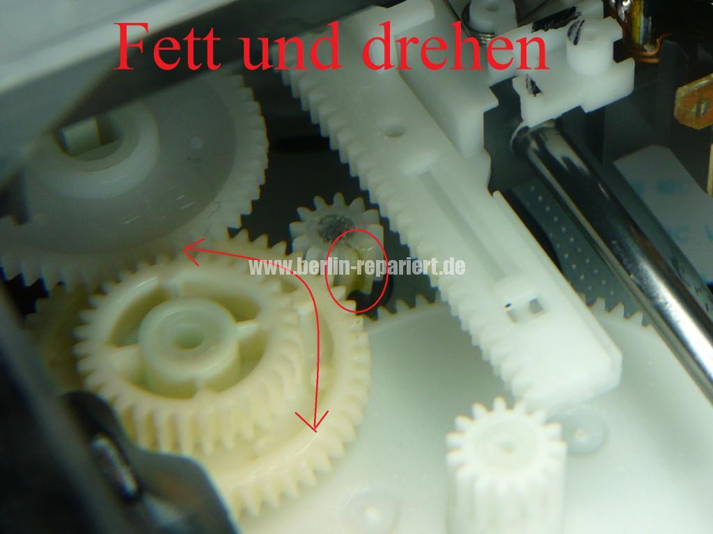 Orion DVD VR-2961, DVD Lademotor Defekt, Reparieren (14)