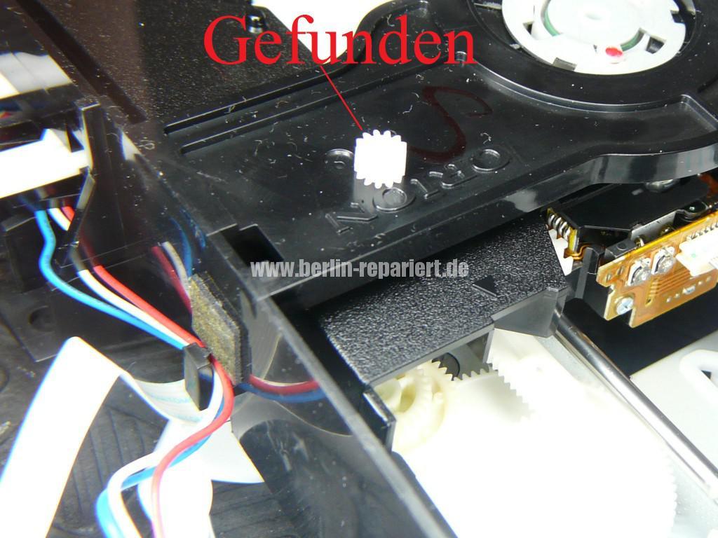 Orion DVD VR-2961, DVD Lademotor Defekt, Reparieren (8)