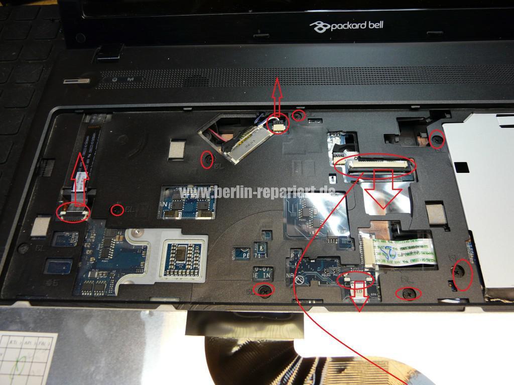 Packard bell Easy Note TK 85, Lüfter macht Geräusche, Lüfter Revidieren (5)