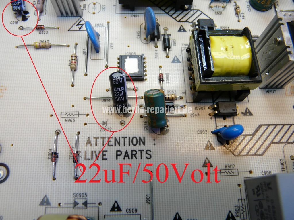 Philips 47PFL4606, geht nicht an, Stby OK (8)