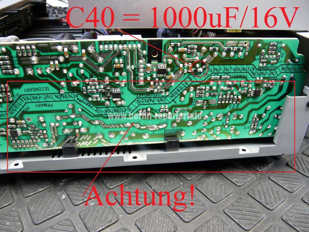 Philips DCB7005, keine Funktion, Blinkt  (1)
