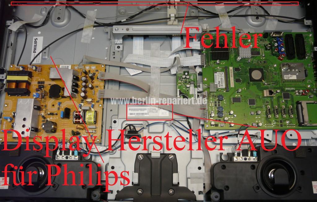 Philips Qualität 37PFL9604, Bild ziettert, streifen in Bild (2)