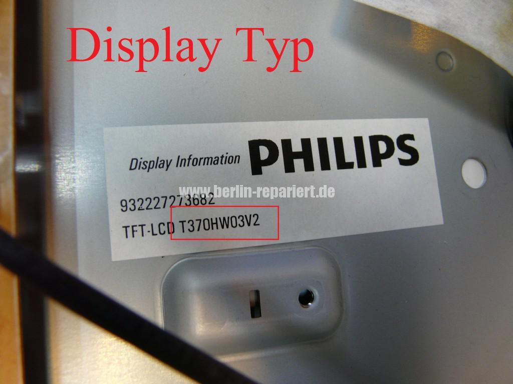 Philips Qualität 37PFL9604, Bild ziettert, streifen in Bild (3)