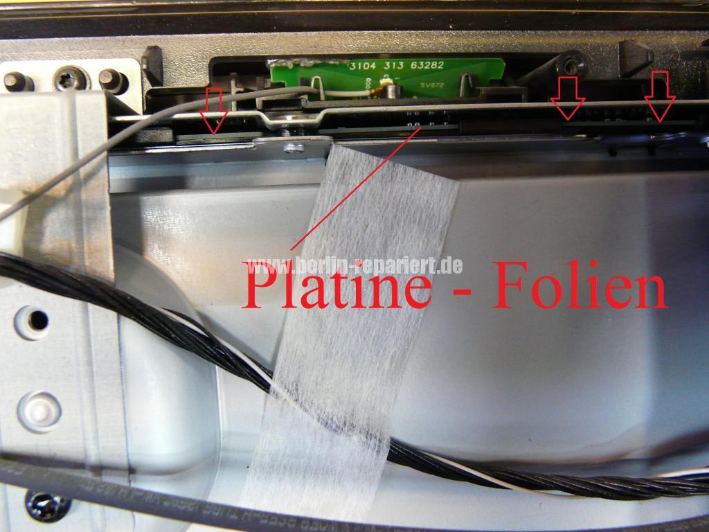 Philips Qualität 37PFL9604, Bild ziettert, streifen in Bild (4)