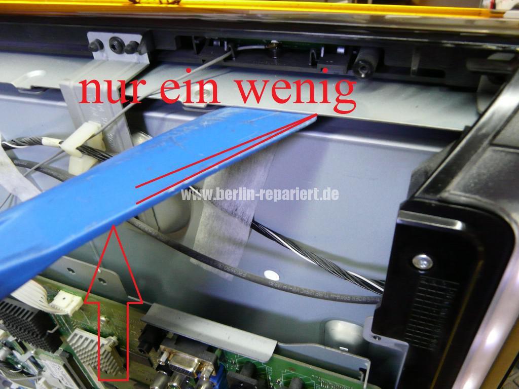Philips Qualität 37PFL9604, Bild ziettert, streifen in Bild (7)