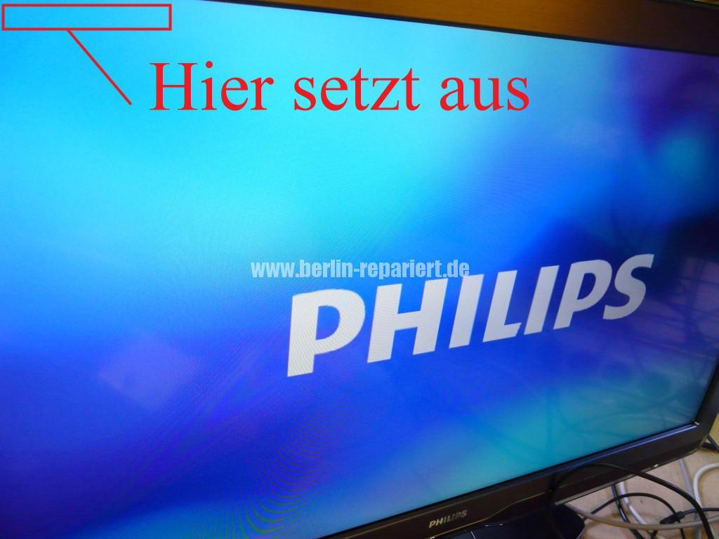 Philips Qualität 37PFL9604, Bild ziettert, streifen in Bild (8)