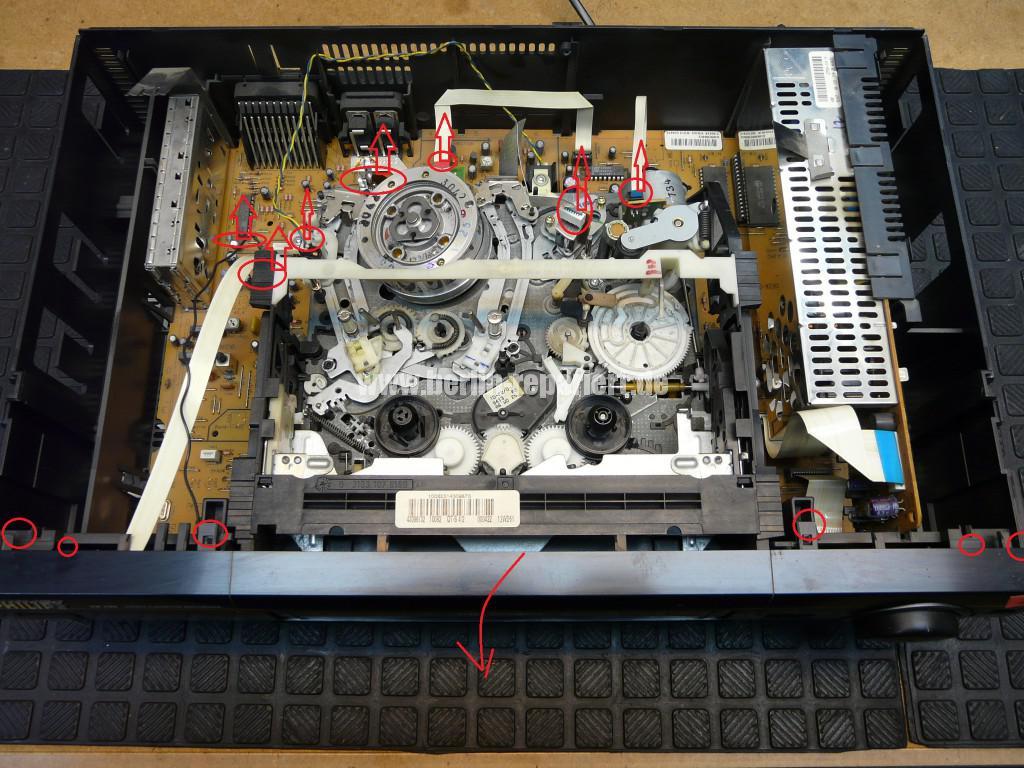 Philips VR700, nimmt kein Kassette an, Kassette kommt nicht raus (2)