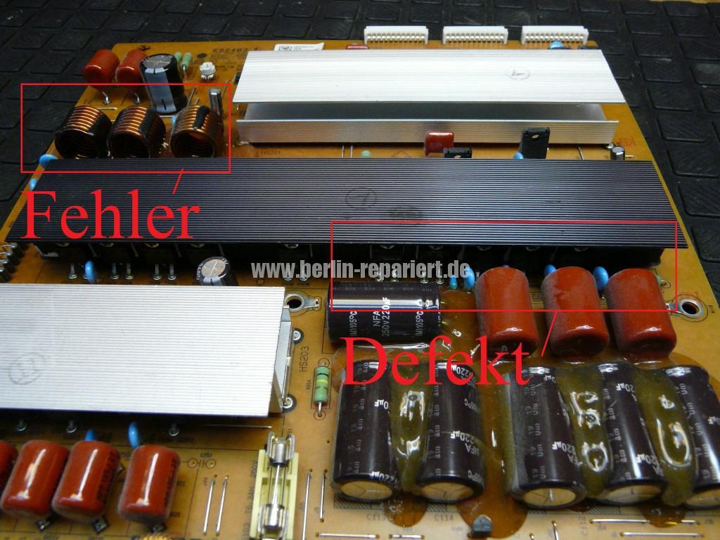 Qualität LG 50PV250 keine Funktion (13)