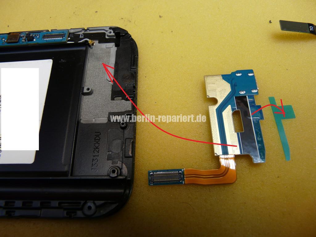 Samsung Galaxy Note 2 GT-N7100, USB Buchse austauschen (8)