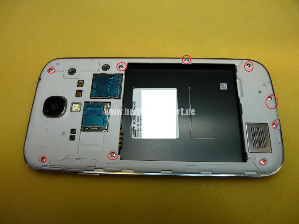Samsung Galaxy S4 Gt-i9505, kein Bild (3)