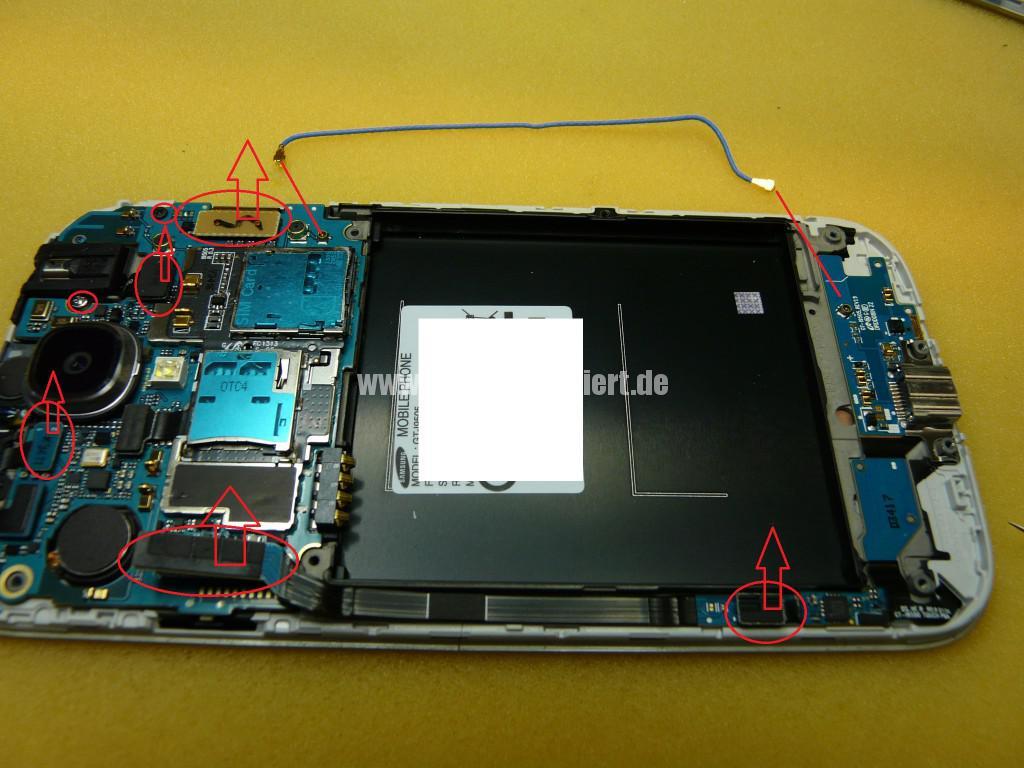 Samsung Galaxy S4 Gt-i9505, kein Bild (9)