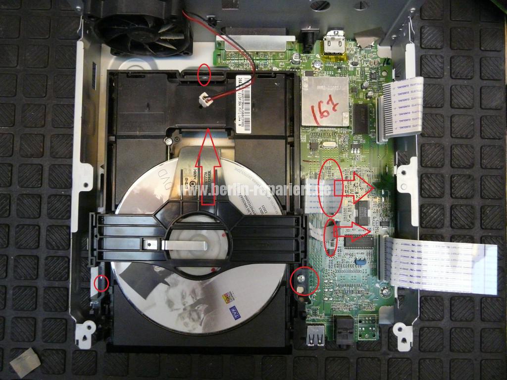 Samsung MM-D530D, geht schwer an, DVD kommt nicht mehr raus (14)