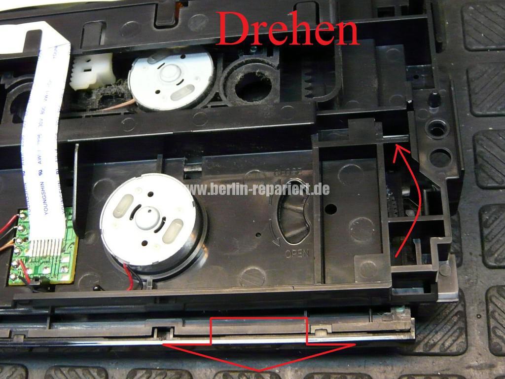 Samsung MM-D530D, geht schwer an, DVD kommt nicht mehr raus (15)