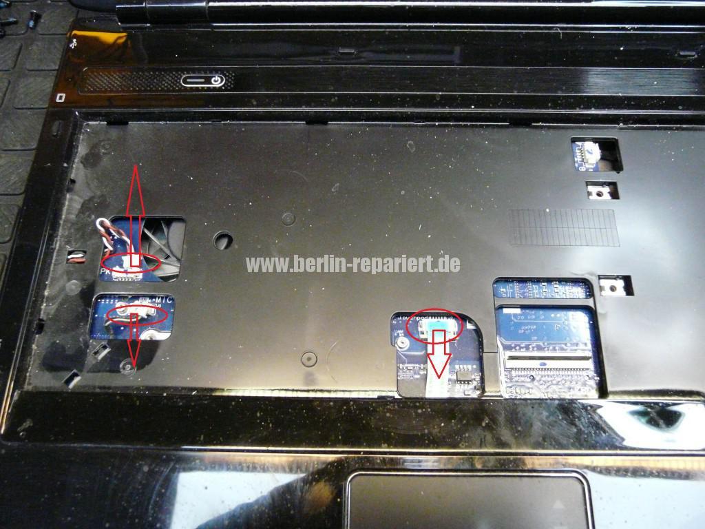 Samsung R610, Lüfter Defekt, Lüfter Reparieren (5)