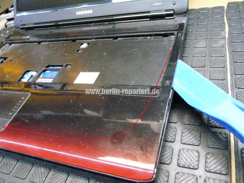 Samsung R610, Lüfter Defekt, Lüfter Reparieren (6)