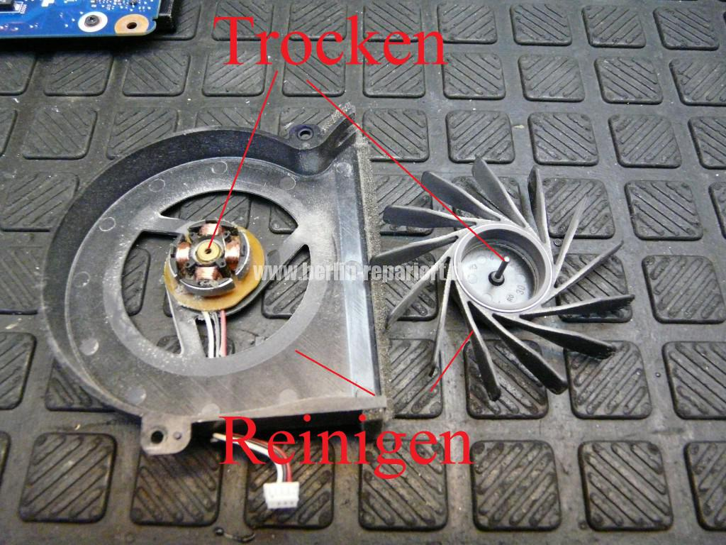Samsung R610, Lüfter Defekt, Lüfter Reparieren (9)