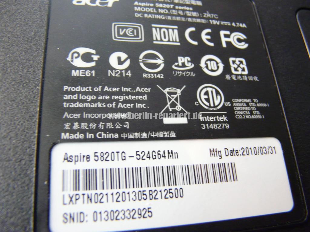 Scahrniere Reparieren ACER Aspire 5820 (13)