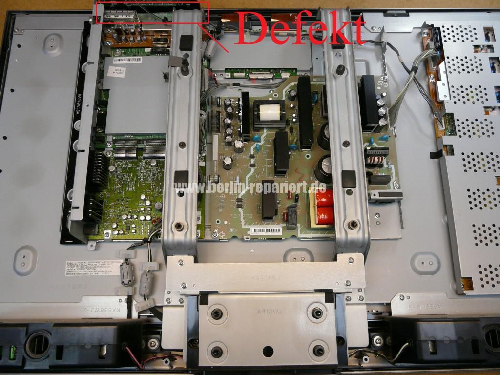 Sharp LC32RA1E, schaltet sich selbst ab, geht nicht an (3)