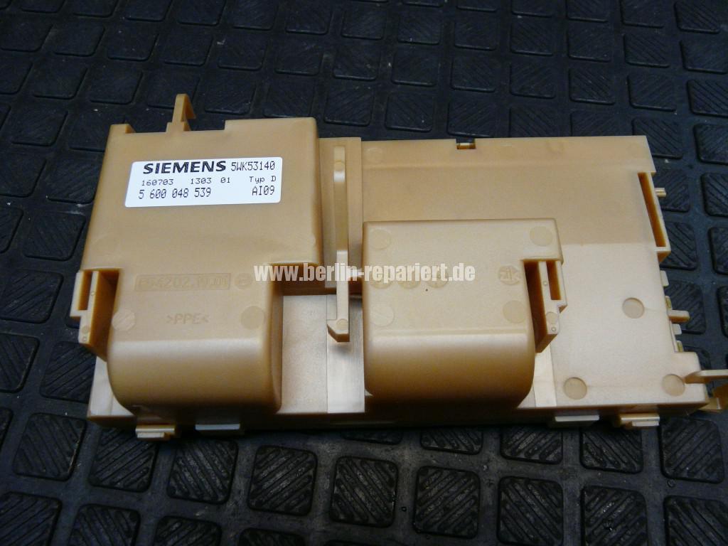Siemens SE20A290, Wäscht nicht (5)