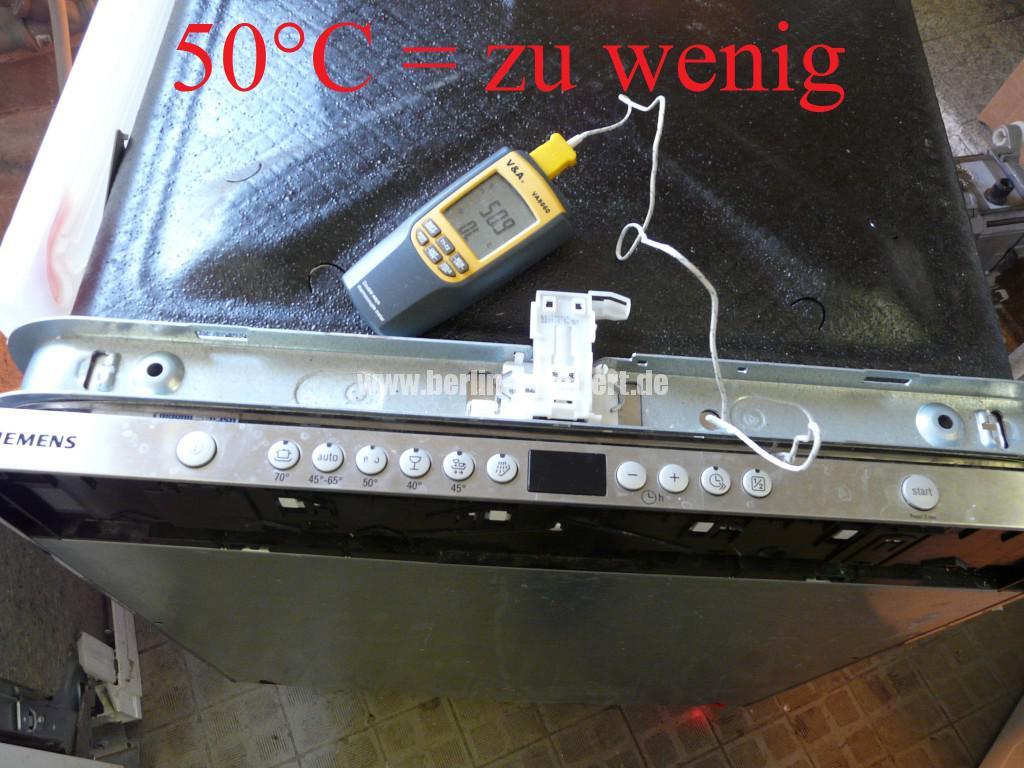 Siemens SN66M080, Trocknet nicht richtig (1)