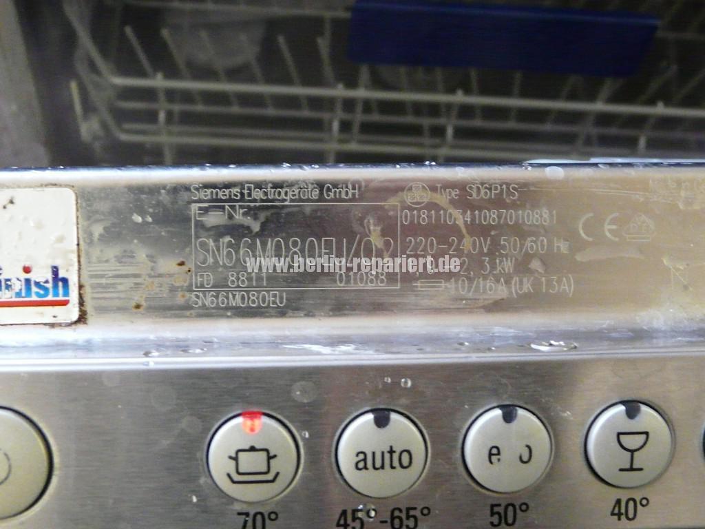 Siemens SN66M080, Trocknet nicht richtig (4)