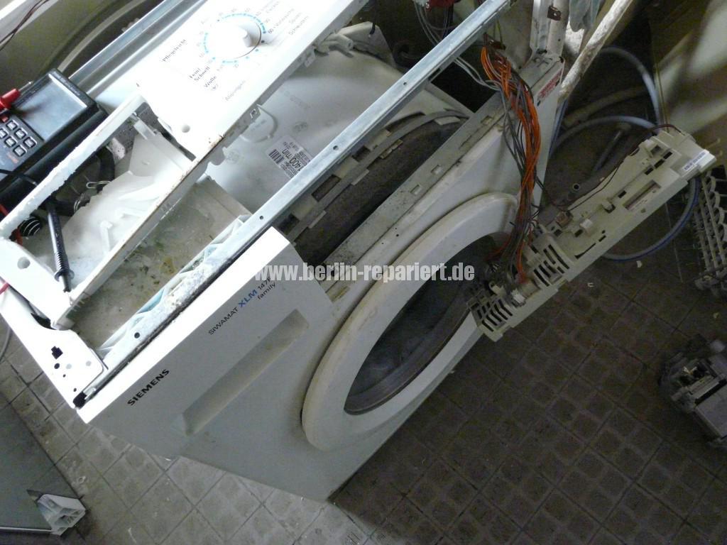 Siemens Siwamat XLM 147F, Motor dreht kurz, AKO 576742-03 Reparieren (1)