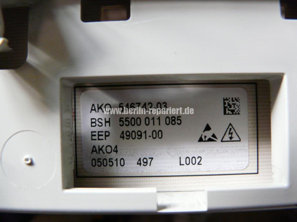 Siemens Siwamat XLM 147F, Motor dreht kurz, AKO 576742-03 Reparieren (7)