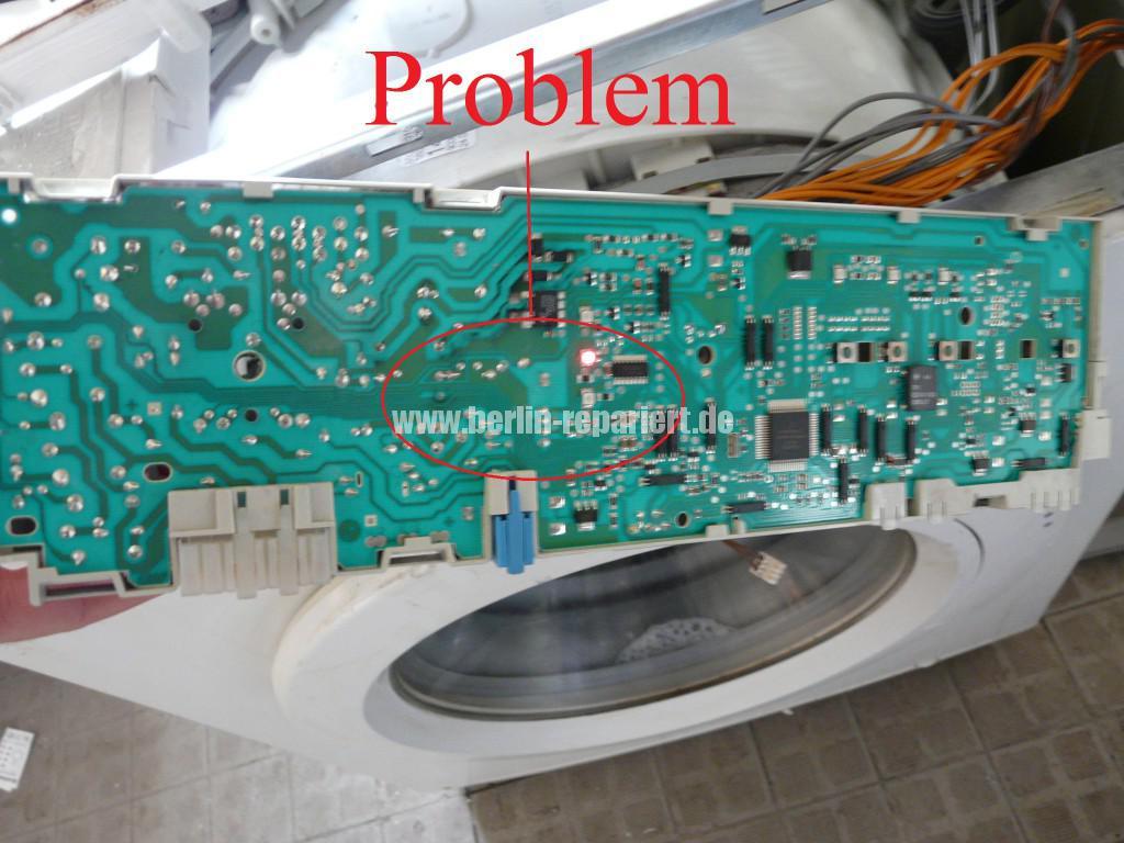 Siemens Siwamat XLM 147F, Motor dreht kurz, AKO 576742-03 Reparieren (8)
