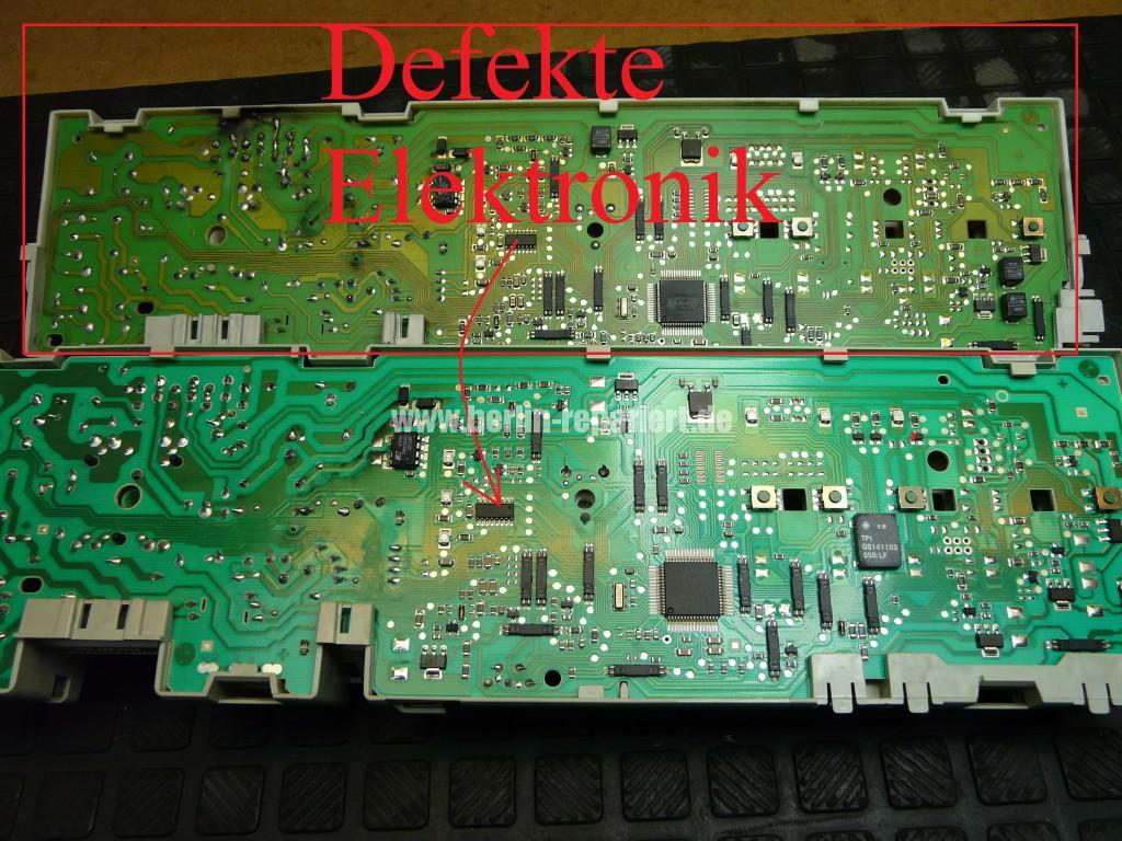Siemens Siwamat XLM 147F, Motor dreht kurz, AKO 576742-03 Reparieren (9)