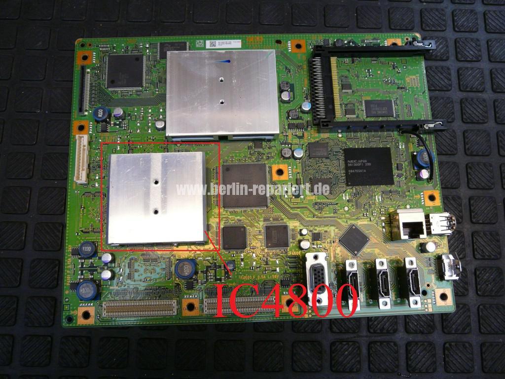 Sony KDL46X4500, Streifen in Bild (16)