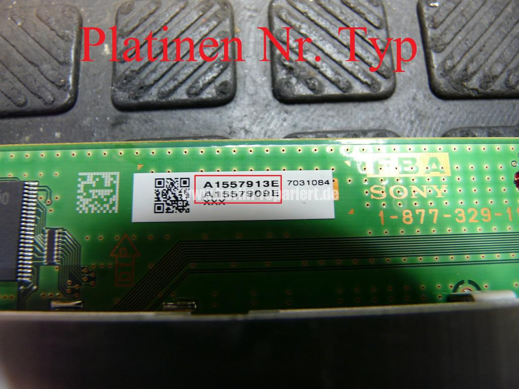 Sony KDL46X4500, Streifen in Bild (18)