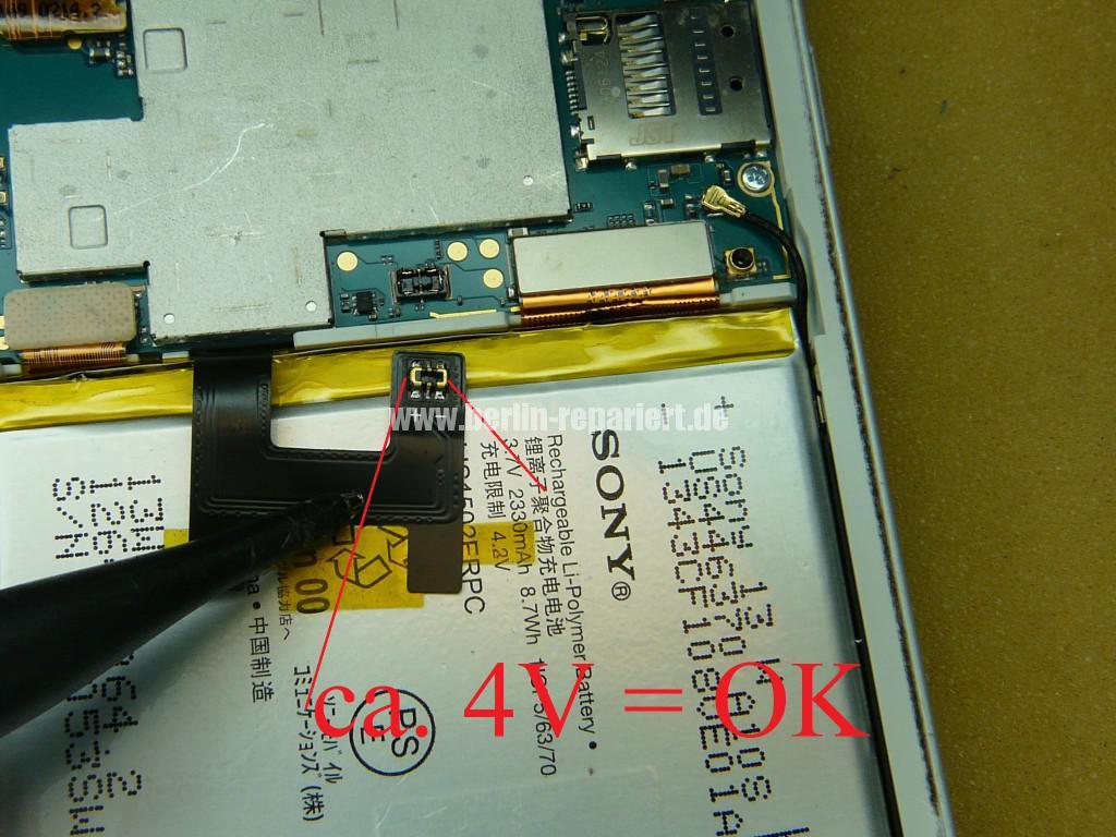 Sony Xperia Z3 Flüssigkeitschaden (10)