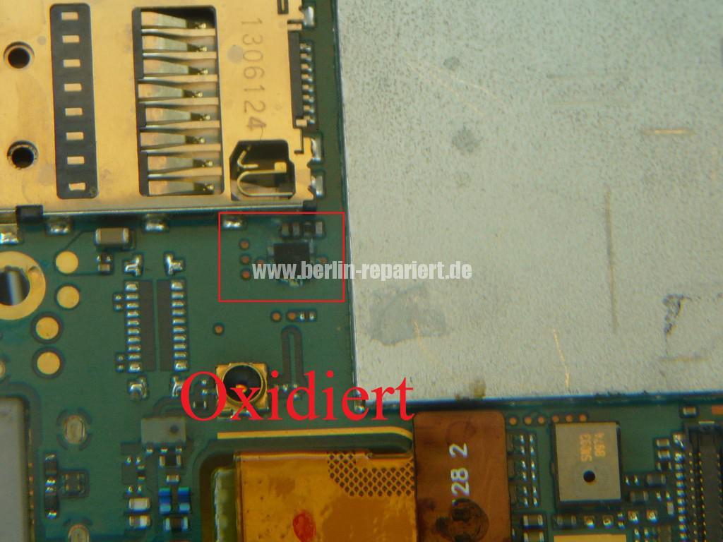 Sony Xperia Z3 Flüssigkeitschaden (14)