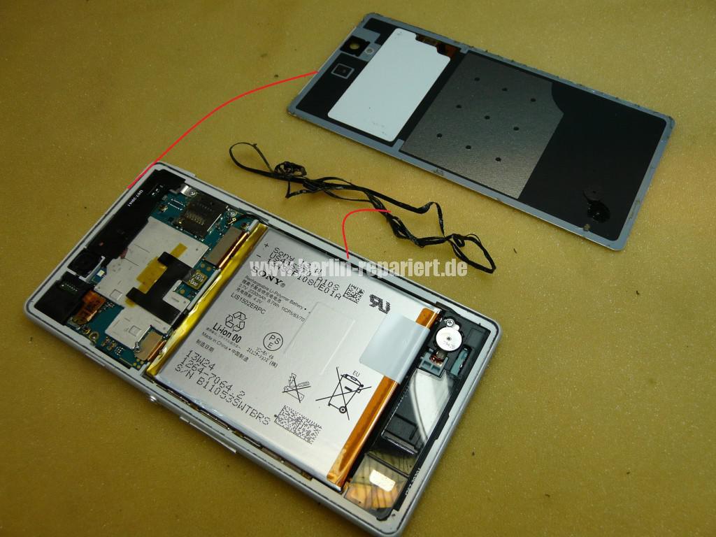 Sony Xperia Z3 Flüssigkeitschaden (5)